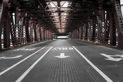 桥梁芝加哥 库存图片