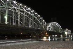 桥梁芬兰 免版税库存照片