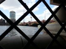 桥梁英国伦敦vauxhall 图库摄影