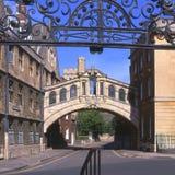 桥梁英国牛津叹气 库存图片