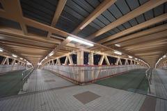 桥梁英尺香港 免版税库存照片