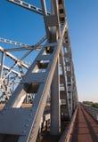 桥梁荷兰语老零件桁架 免版税图库摄影
