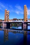桥梁萨加门多塔 免版税库存图片