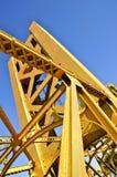 桥梁萨加门多塔 免版税库存照片