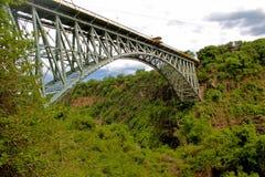 桥梁落维多利亚 免版税库存图片