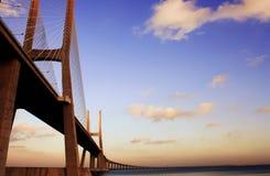 桥梁葡萄牙 免版税库存图片
