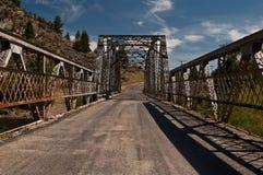 桥梁葡萄酒 免版税图库摄影