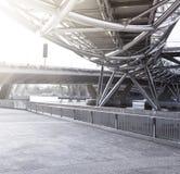 桥梁螺旋新加坡 免版税库存图片