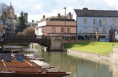 桥梁街道,剑桥,英国 免版税库存图片