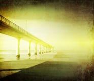 桥梁被塑造的老 库存照片