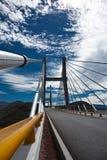 桥梁覆盖天空 免版税库存图片