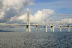 桥梁视图 库存照片