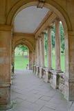 桥梁详细资料庭院横向palladian前期 免版税库存照片