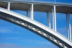 桥梁详细资料玛丽亚・波尔图插入式放大器 库存图片