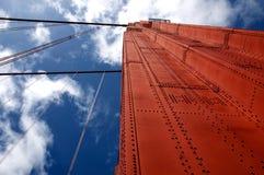 桥梁详述金黄的门 免版税库存图片