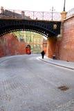 桥梁说谎者罗马尼亚s锡比乌 免版税库存图片