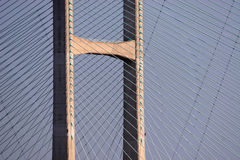 桥梁超结构 库存图片