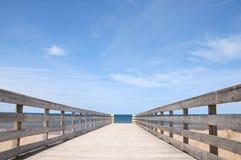 桥梁远期 图库摄影