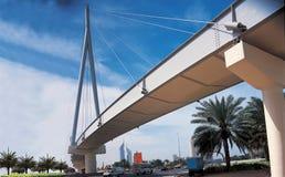 桥梁迪拜公园zabeel 免版税库存照片