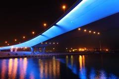 桥梁迪拜海滨广场 免版税库存图片