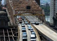 桥梁退出 免版税库存图片
