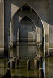 桥梁透视图 库存图片
