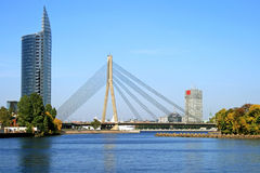 桥梁里加 免版税库存照片