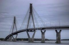 桥梁重画 库存照片