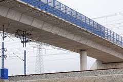 桥梁铁路运输 免版税库存照片