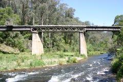桥梁铁路运输 免版税库存图片