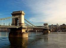 桥梁链子 免版税库存图片