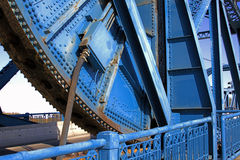 桥梁齿轮 库存图片