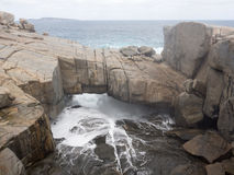 桥梁, Torndirrup国家公园,西澳州 库存图片
