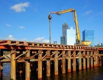 桥梁建筑在高雄市 库存图片