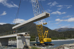 桥梁建筑者 库存照片