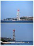 3 桥梁建筑,伊斯坦布尔,土耳其 库存图片
