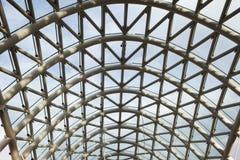桥梁建筑 金属桥梁滤网框架  图库摄影