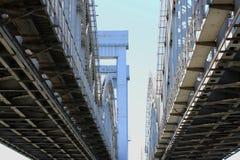 桥梁建筑 免版税图库摄影