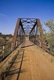 桥梁更长的金属没有老服务 免版税图库摄影