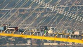 桥梁洪kau kong铃的响声 股票视频