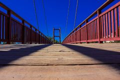 桥梁 Puerto Banus,马尔韦利亚 免版税库存照片