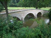 桥梁burnside俯视 免版税库存照片