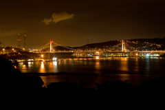 桥梁carquinez 免版税图库摄影