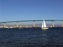 桥梁coronado 免版税库存图片