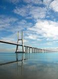 桥梁da gama瓦斯考 库存图片