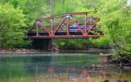 桥梁daugherty轮渡 库存照片