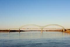 桥梁desoto hernando 库存图片
