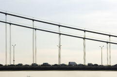 桥梁fatih伊斯坦布尔mehmet苏丹 图库摄影