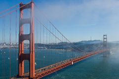 桥梁goldengate 库存图片