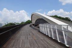桥梁henderson新加坡通知 库存图片
